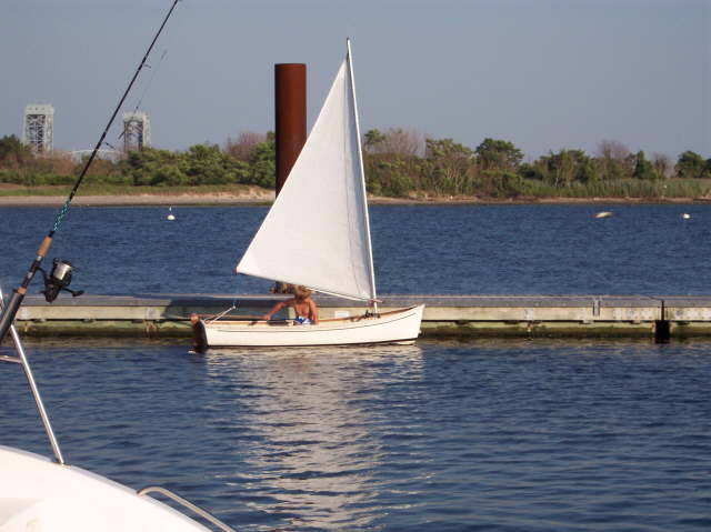Sailing a Kittery Point Tender